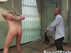 Josh and Kyler in extreme gay BDSM part1