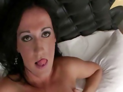 Big Cock Tranny Gets Her Ass Rammed Good