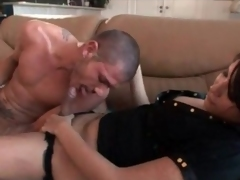 Tranny passionately kisses her man